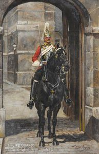 Harry Payne - 1 Life Guards On King Guardia, Whitehall