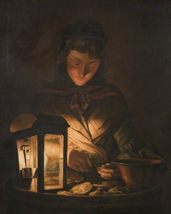 ostrica piccola  di Henry Robert Morland (1716-1797, United Kingdom)