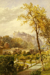 James Burrell Smith - una vista di Principi  via  Giardini