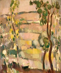 John Duncan Fergusson - Morning In Touraine