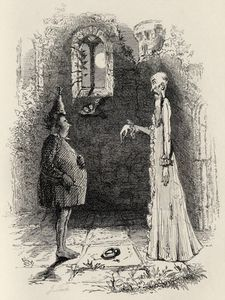 John Leech - il fantasma , Da 'the Ingoldsby Legends'