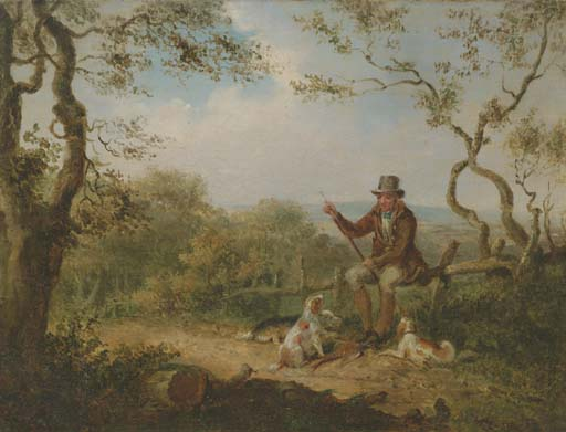 Fagiano Shooting - Ricaricare di Samuel John Egbert Jones (1797-1861, United Kingdom)
