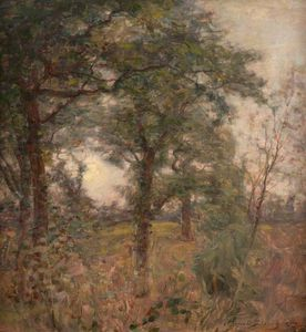 Alexander Brownlie Docharty - Scene Woodland