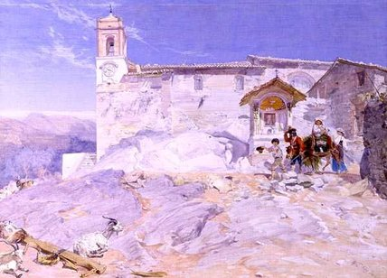 sta rocco di Alfred Downing Fripp (1822-1895, United Kingdom)