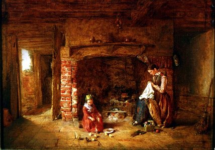 The New Brood di Alfred Provis (1843-1886, United Kingdom) | WahooArt.com
