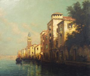 Antione Bouvard - Evening Glow, Venezia
