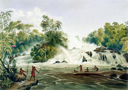 Svincolo della Kundanama With The Paramu di Charles Bentley (1805-1854, United Kingdom) | Stampe D'arte Su Tela | WahooArt.com