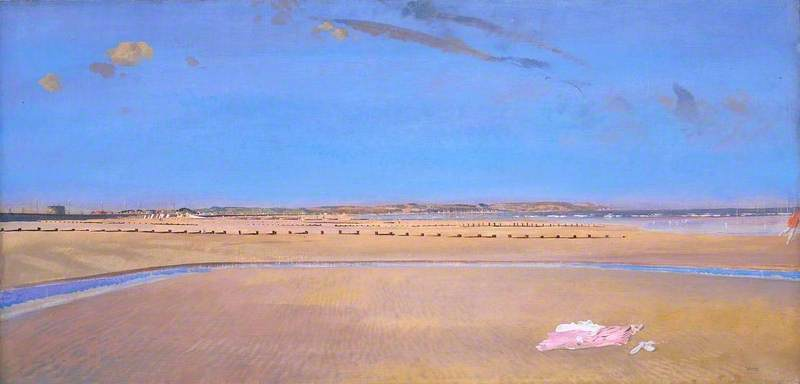 le sands a dymchurch di Charles Henry Sims (1873-1928, United Kingdom)