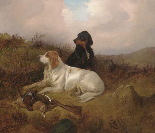 Setter A guardia del Bag di Colin Graeme Roe (1858-1910, United Kingdom)