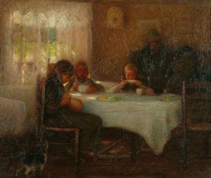 Edward William Stott - Domenica mattina
