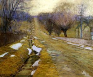 Edward Willis Redfield - dollari Paese  Inverno