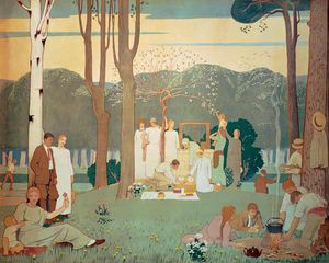 Frederick Cayley Robinson - Picnic