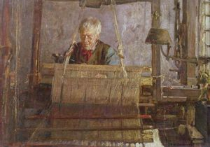 Frederick William Jackson - The Last Of The Loom Mano Weavers