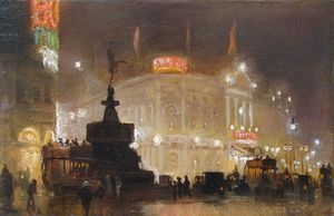 George Hyde Pownall - Piccadilly Circo -