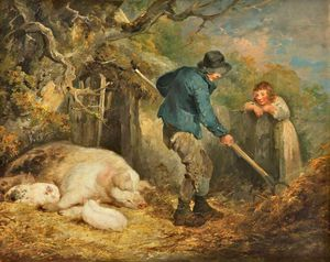 George Morland - Il Piggery