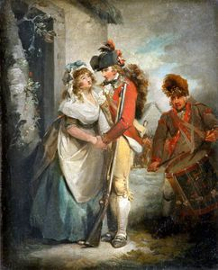 George Morland - Il Soldier's Partenza