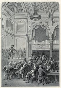 Paul Gustave Doré - Evans-s Canzone e supper Camere