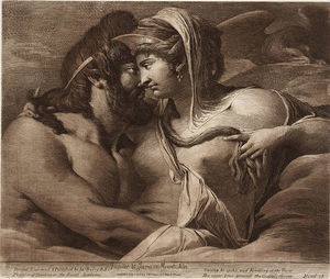 James Barry - giove e giunone sul monte Ida