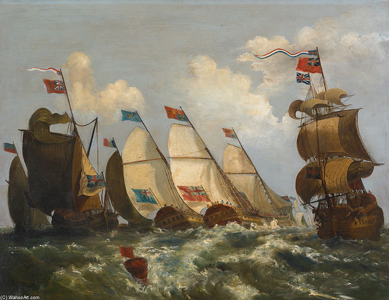 Regata di Nicholas Pocock (1740-1821, United Kingdom)
