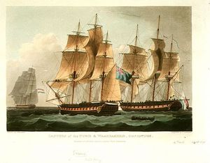 Thomas Whitcombe - Hms Sirius Vs Furie
