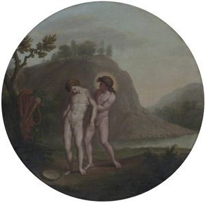 William Hamilton - Apollo e Giacinto