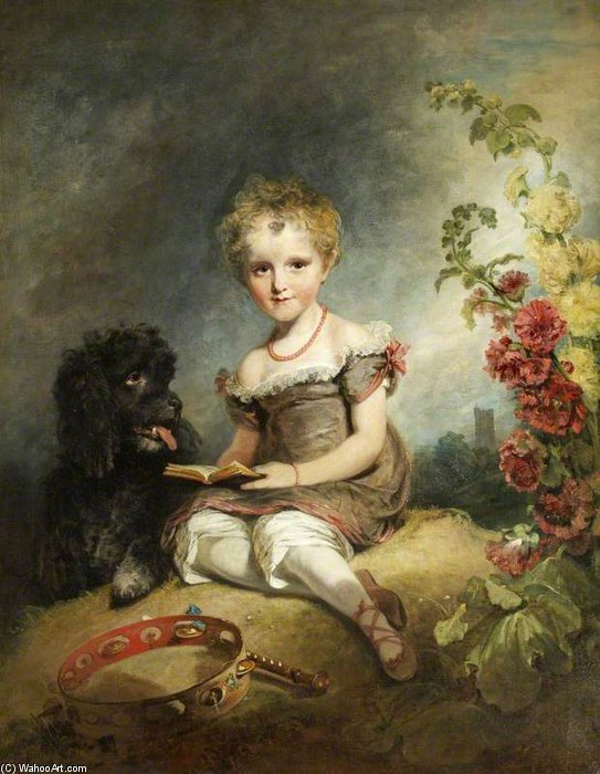Anne Hoare, Lady Mathew di William Owen (1769-1825, United Kingdom) | WahooArt.com