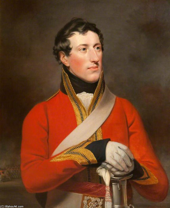 Capitano Enrico Arri Massi Barnard di William Owen (1769-1825, United Kingdom)