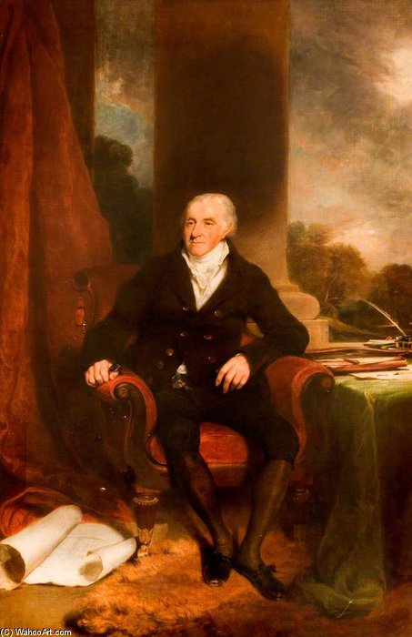 John Sparrow, Presidente del Quarter Sessions di William Owen (1769-1825, United Kingdom) | WahooArt.com
