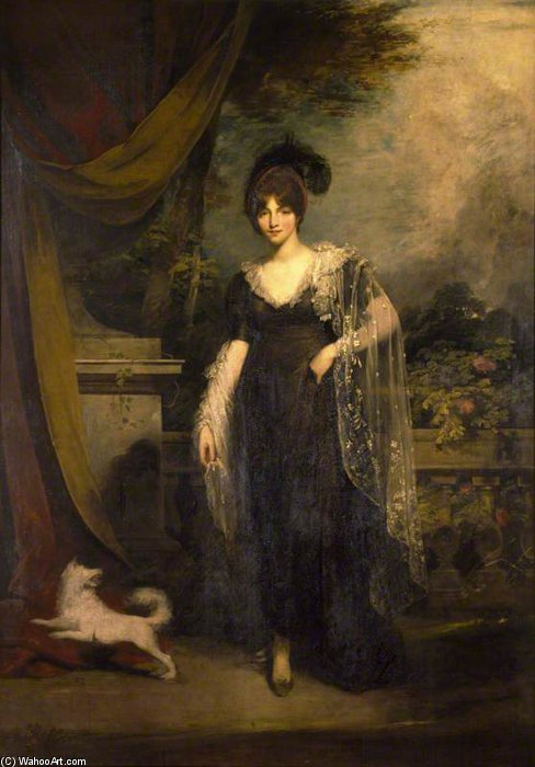 mrs robinson di William Owen (1769-1825, United Kingdom)
