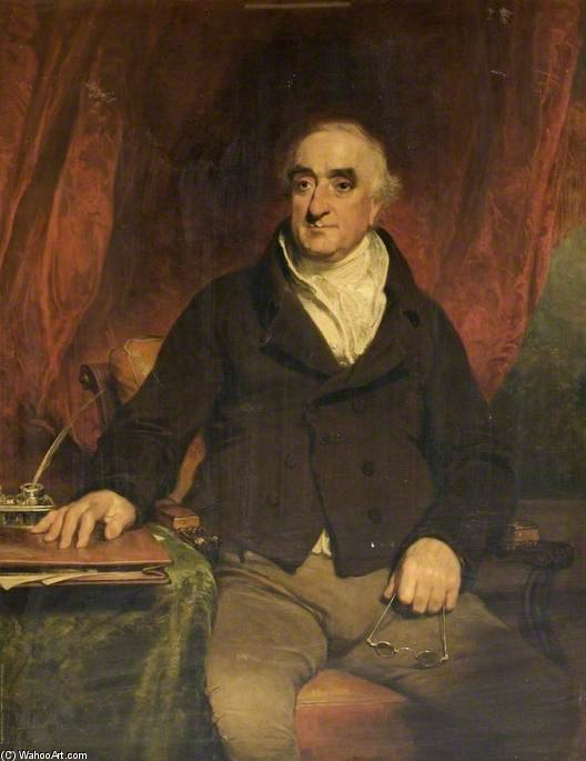 Praed, primo presidente del Grand Junction Canal Company di William Owen (1769-1825, United Kingdom) | Stampe D'arte Su Tela | WahooArt.com
