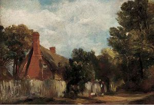 Frederick Waters (William) Watts - agriturismo a Hill's Cresta , Est Bergholt