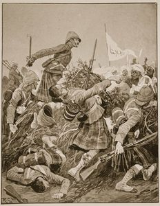 Richard Caton De Woodville - il seaforth highlanders storming