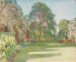 Alfred James Munnings - Giardini , Dedham