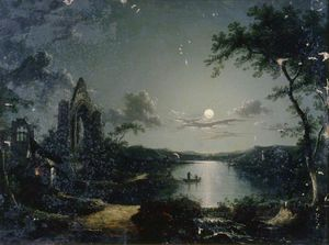 Henry Pether - Scena Moonlit