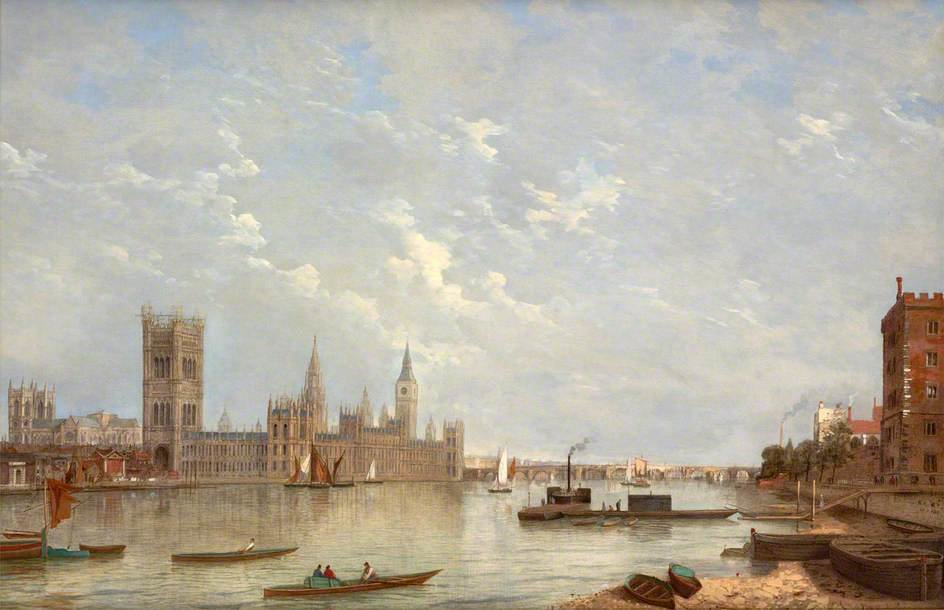 Westminster di Henry Pether (1828-1865, United Kingdom)