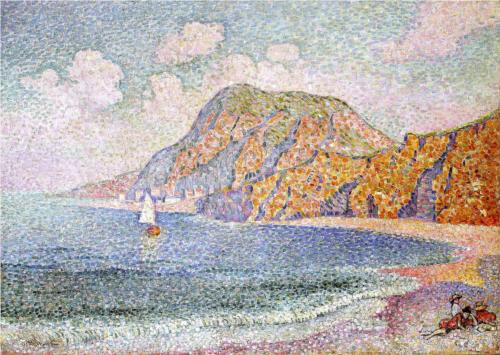 Il Seashore di Jean Dominique Antony Metzinger (1883-1956, France)