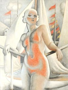 Jean Dominique Antony Metzinger - Yachting