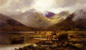 Louis Bosworth Hurt - Un Valletta in ardgour