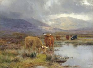 Louis Bosworth Hurt - Un giorno di pioggia a Highlands