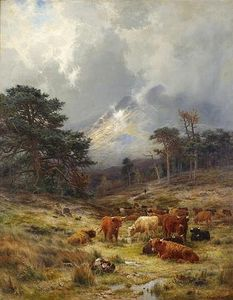 Louis Bosworth Hurt - braes at orchy , Argylshire