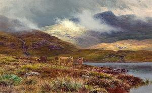 Louis Bosworth Hurt - Colline a lochgoilhead