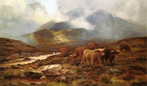 Louis Bosworth Hurt - Over The Moorland, Sligachan, Isola di Wight