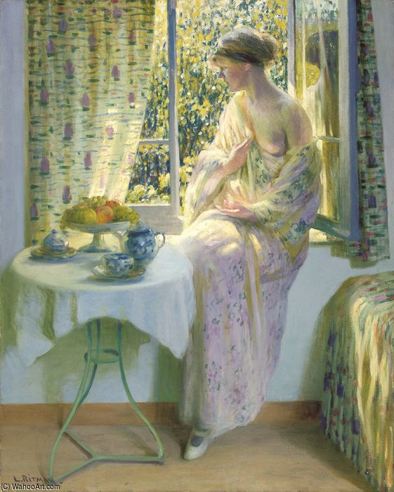 Early Morning Sole di Louis Ritman (1889-1963, Russia)