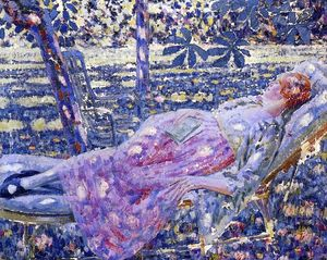 Louis Ritman - Summer Day In Chaise Lounge