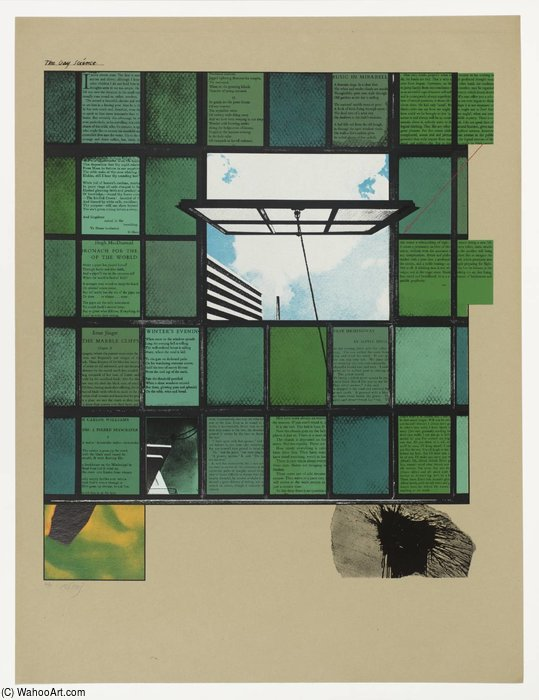 Il gay scienza  di Ronald Brooks Kitaj (1932-2007, United States)