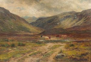 Louis Bosworth Hurt - Glen Logan, Kinlochewe