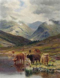 Louis Bosworth Hurt - In Glen Nevis, Scozia