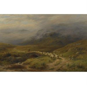 Louis Bosworth Hurt - Mattina - Vicino Crianlarich, Perthshire