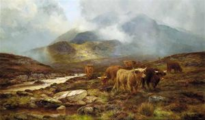 Louis Bosworth Hurt - Over The Moorland, Sligachan, Isola di Skye