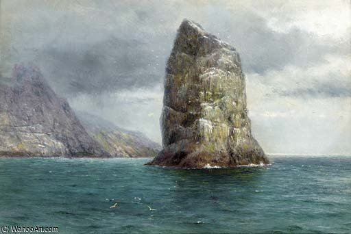 il gannet Pila , Cattedrale di st . Kilda di Louis Bosworth Hurt (1856-1929, United Kingdom)